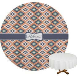 Tribal Round Tablecloth (Personalized)
