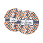 Tribal Sandstone Car Coasters (Personalized)