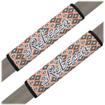 Tribal Seat Belt Covers (Set of 2) (Personalized)