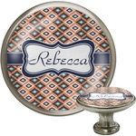 Tribal Cabinet Knob (Silver) (Personalized)
