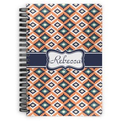 Tribal Spiral Bound Notebook (Personalized)