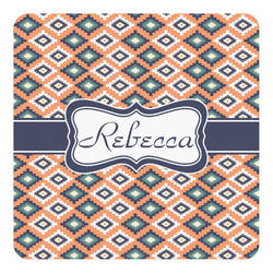 Tribal Square Decal - Custom Size (Personalized)