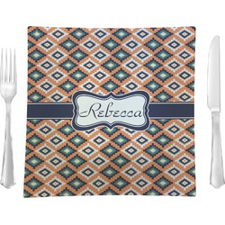 Tribal Square Dinner Plate (Personalized)