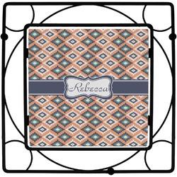 Tribal Square Trivet (Personalized)
