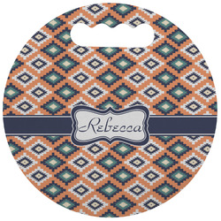 Tribal Stadium Cushion (Round) (Personalized)