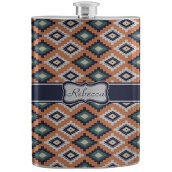 Tribal Stainless Steel Flask (Personalized)