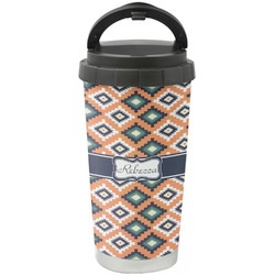 Tribal Stainless Steel Travel Mug (Personalized)
