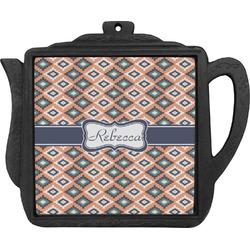 Tribal Teapot Trivet (Personalized)