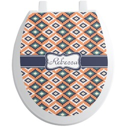 Tribal Toilet Seat Decal (Personalized)