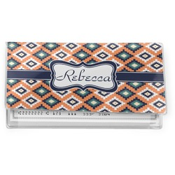 Tribal Vinyl Checkbook Cover (Personalized)
