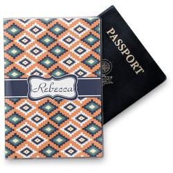 Tribal Vinyl Passport Holder (Personalized)