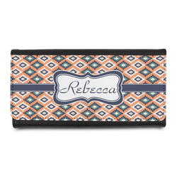 Tribal Leatherette Ladies Wallet (Personalized)