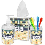 Tribal2 Bathroom Accessories Set (Personalized)