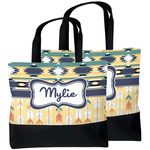Tribal2 Beach Tote Bag (Personalized)