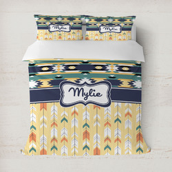Tribal2 Duvet Cover (Personalized)