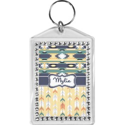 Tribal2 Bling Keychain (Personalized)