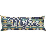 Tribal2 Body Pillow Case (Personalized)