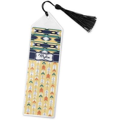 Tribal2 Book Mark w/Tassel (Personalized)