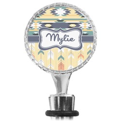 Tribal2 Wine Bottle Stopper (Personalized)