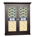 Tribal2 Cabinet Decal - Custom Size (Personalized)