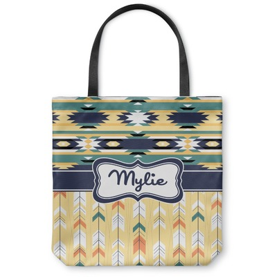 Tribal2 Canvas Tote Bag (Personalized)