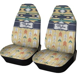 Tribal2 Car Seat Covers (Set of Two) (Personalized)