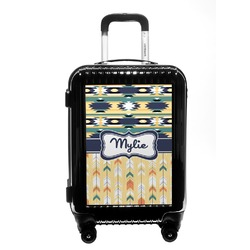 Tribal2 Carry On Hard Shell Suitcase (Personalized)