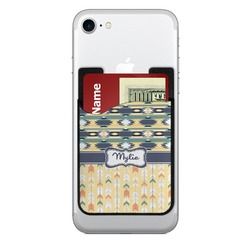 Tribal2 Cell Phone Credit Card Holder (Personalized)