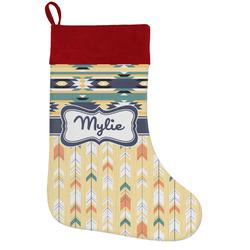 Tribal2 Holiday / Christmas Stocking (Personalized)