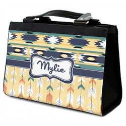 Tribal2 Classic Tote Purse w/ Leather Trim (Personalized)