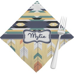 Tribal2 Cloth Napkins (Set of 4) (Personalized)