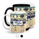 Tribal2 Coffee Mugs (Personalized)