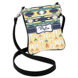 Tribal2 Cross Body Bag - 2 Sizes (Personalized)