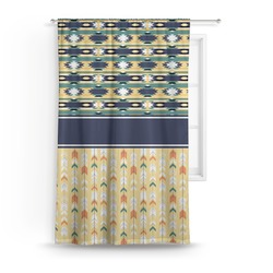 Tribal2 Curtain (Personalized)
