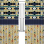 Tribal2 Curtains (2 Panels Per Set) (Personalized)