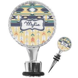 Tribal2 Wine Bottle Stopper (Personalized)