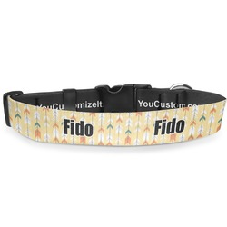"""Tribal2 Deluxe Dog Collar - Toy (6"""" to 8.5"""") (Personalized)"""