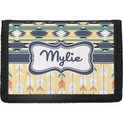 Tribal2 Trifold Wallet (Personalized)