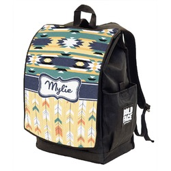 Tribal2 Backpack w/ Front Flap  (Personalized)
