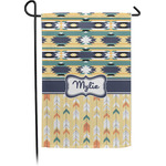 Tribal2 Garden Flag - Single or Double Sided (Personalized)