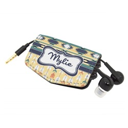 Tribal2 Genuine Leather Cord Wrap (Personalized)