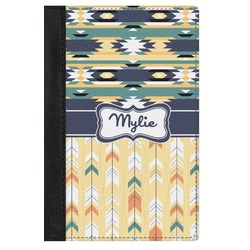 Tribal2 Genuine Leather Passport Cover (Personalized)