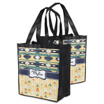 Tribal2 Grocery Bag (Personalized)