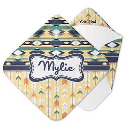 Tribal2 Hooded Baby Towel (Personalized)