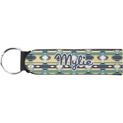 Tribal2 Neoprene Keychain Fob (Personalized)