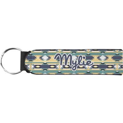 Tribal2 Neoprene Keychain Fob (Personalized)