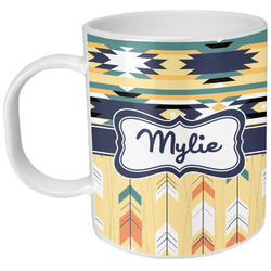Tribal2 Plastic Kids Mug (Personalized)
