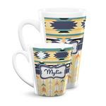 Tribal2 Latte Mug (Personalized)