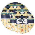 Tribal2 Melamine Plate (Personalized)