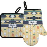 Tribal2 Oven Mitt & Pot Holder (Personalized)